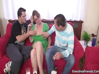 two guys like fucking super lady