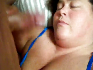 older  babe give head (bbw)