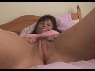 huge breast older  mature babe into reddish glide