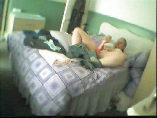hidden cam placed into bedroom of woman