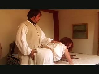 spanked housewife