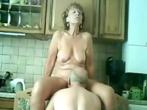 mature fucked in dining room