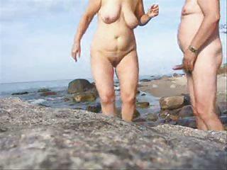 grownup duo porn on the beach-wear-tweed