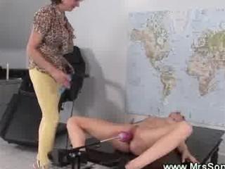 fuck mechanism copulates juicy cougar vagina