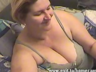 emily 52 years with big boobs pleases at home