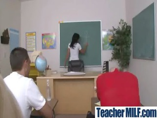 sexy busty teachers and students copulate hard