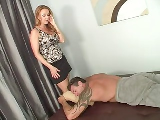 woman knows a really sweet massage