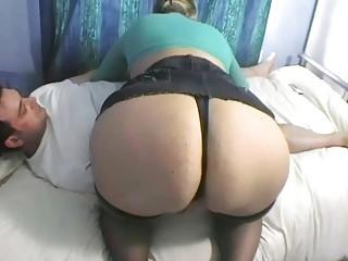 fabulous bleached woman licks giant libido into