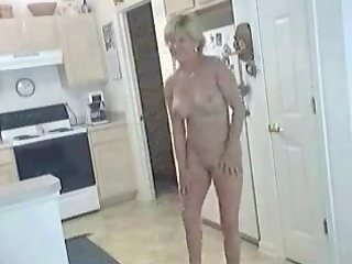 aged sexy milf inside natures garb inside dining