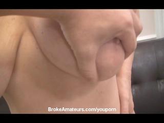 amateur large boob milf