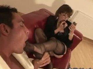 grownup english femdom legs tease