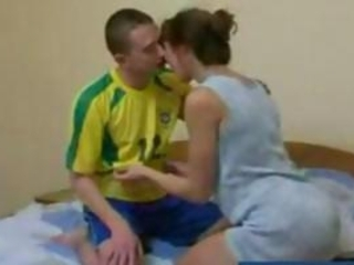 rufous russian cougar mother takes gangbanged by