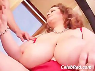 fat cougar enjoys em fresh bbw huge tits hardcore