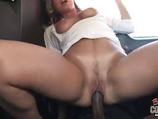 clean lady joey leah used by ain her ebony son on