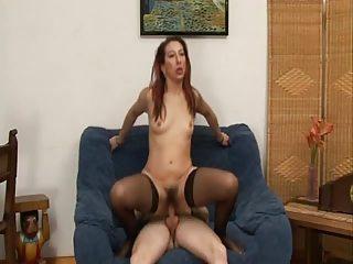 hirsute ass mature babe inside pantyhose gaping