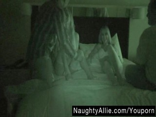 foursome on night vision cam  maiden swapping