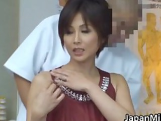 Asian milf massage fuck