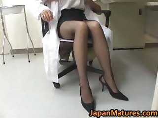 shocking nurse is a super older  girl