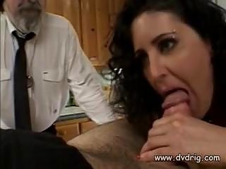 perverted man makes his woman isabel spread