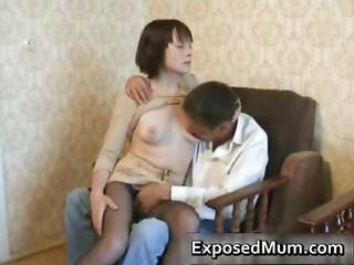 doggyfucked steamy mum rips her part3