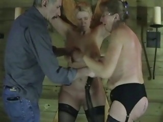 two older  fresh slaves into sexual lace