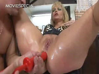 mature lady acquires oat drilled