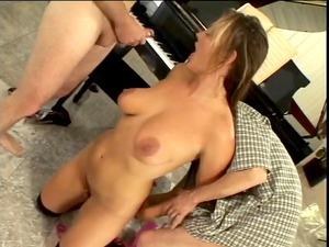 3 horny sluts into deed