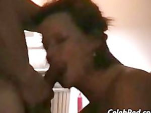 brit housewife gang-banging younger man