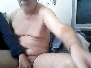 elderly handjob