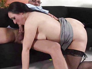 horny american mature babe acquiring shagged