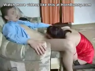 russian mom and son have fuck - hornbunny.com