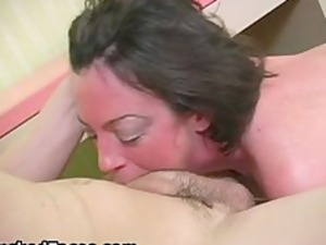 hot woman obtains facial abused