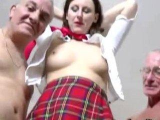 grownup euro girl into pantyhose licks and