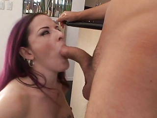 awesome lady caroline gang bang fellatio