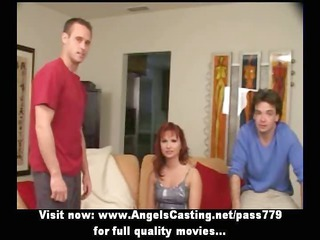 ginger milf as bride does dick sucking for large