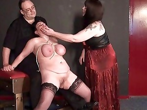 older dike slavegirls bizarre punishment