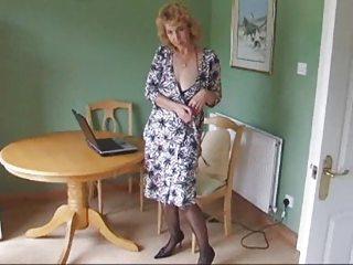 older  figure  nylons nylons expose