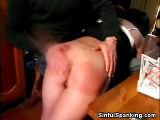 older  pretty spanked