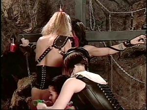 lesbian bitches inside bdsm orgy