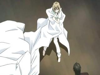 anime twink having a like hour wih his boy