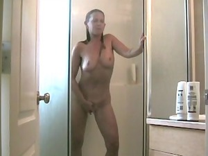 mother id like to fuck pushing dildo in the shower