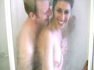 shower sex with my wife