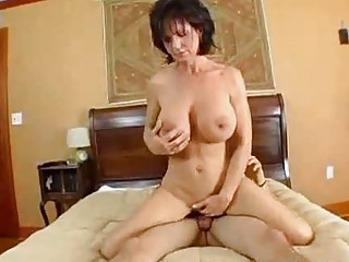 desperate milf deauxma squirts from anal!