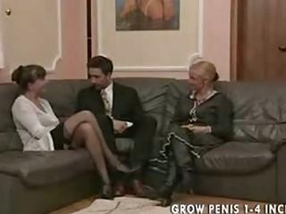 old and woman into nylons bang part1