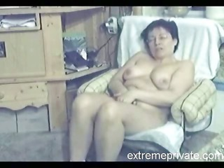 my 48 years latino milf fisting inside living