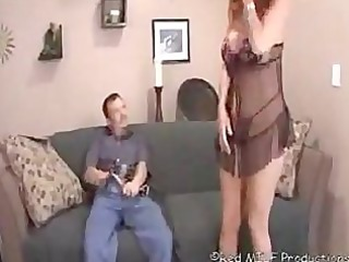 milf gives a special super handjob to fresh dude