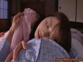 naughty japanese older  babes sucking part1