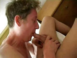 busty elderly elderly bangs amateur penis and