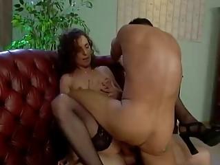 older  german bitch does two men