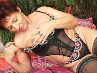 elderly fresh milf shooting her kitty muscles